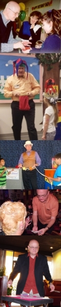 Magician for kids birthday parties