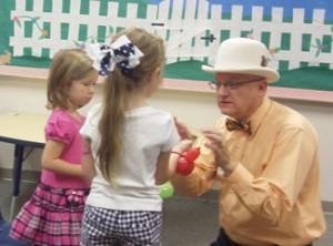 Allen kids birthday party magician