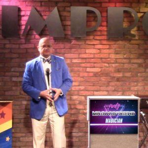 magic show at improv comedy club