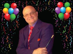 portrait of Dallas party magician MrGoodfriend